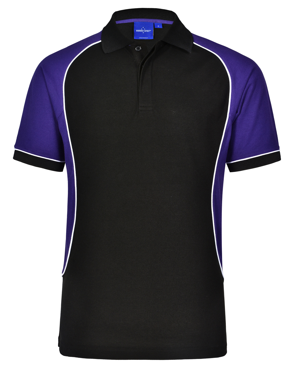 School Polo Shirts Purple